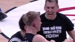 GAME WINNER ALERT! Ognjen Jaramaz with a triple! (Partizan NIS - Cedevita Olimpija, 11.1.2020)