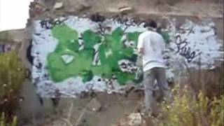 preview picture of video 'suez graffiti en torres de la alameda'