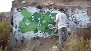 preview picture of video 'suez graffiti en torres de la alameda'