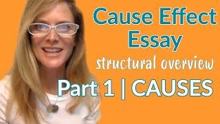 Cause Effect Essay | English Writing Skills| Focus on CAUSES