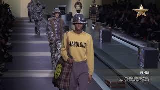 FENDI Milan Fashion Week Mens Fall/Winter 2018-19