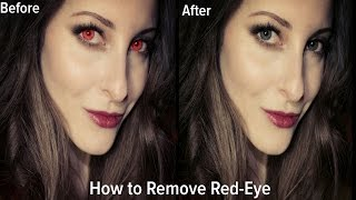 PicsArt: How to remove Red Eye