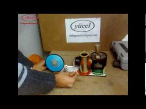 ev yapımı stirling motoru (home made Stirling Engine) 51