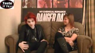 Gerard Way - My Chemical Romance - Danger Days interview with Taste iT Tv