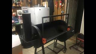 Old Country Brazos smoker MODs round 3