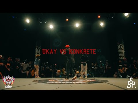 Ukay vs Konkrete | Exhibition Battle | EBS KRUMP WORLD CHAMPIONSHIP 2016