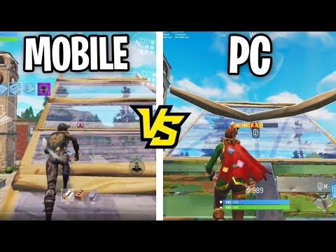 I Challenged THE BEST MOBILE FORTNITE PLAYER To a 1v1 Build Battle... (PC vs MOBILE Playground)