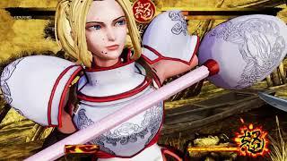 Samurai Showdown 2019 Exclusive Gameplay Footage - Genjuro VS Charlotte.