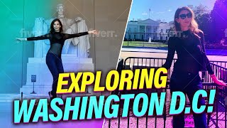 Exploring Washington D.C, The U.S Capital I White House, Lincoln Memorial & Georgetown