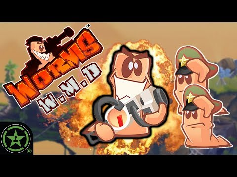 The Rope Sheep Maneuver - Worms W.M.D. | Let's Play