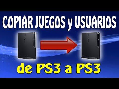 Como Transferir Juegos y Usuarios de una PS3 a otra PS3