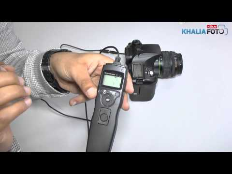 ayex Timer Fernauslöser für DSLR Kamera