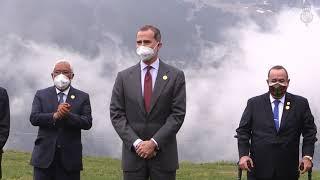 Almuerzo oficial en honor de los jefes de Estado Iberoamericanos y de la Secretaria general Iberoamericana ofrecido por el cap de Govern de Andorra
