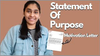 How To Write MOTIVATION LETTER | PERSONAL STATEMENT - Do's & Don'ts