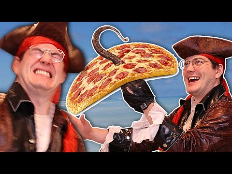 Making Pizza but I'm a Pirate music video cover