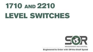 1710-2210 Level Switches