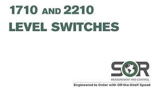1710-2210 Level Switches