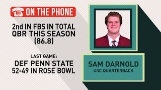 Gottlieb: Sam Darnold talks Rose Bowl win
