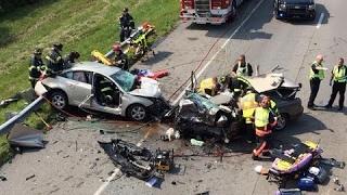 Подборка ДТП и аварий, Страшные аварии , Пьяные водители , водительская невнимательность за рулем