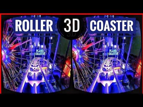Best VR Roller Coaster 3D VR Videos 3D SBS for VR BOX 360 3D VR Headset