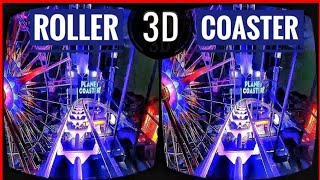 🔴 Best VR Top 2 Roller Coaster 3D VR Videos 3D SBS for Virtual Reality VR BOX 360 Split Screen
