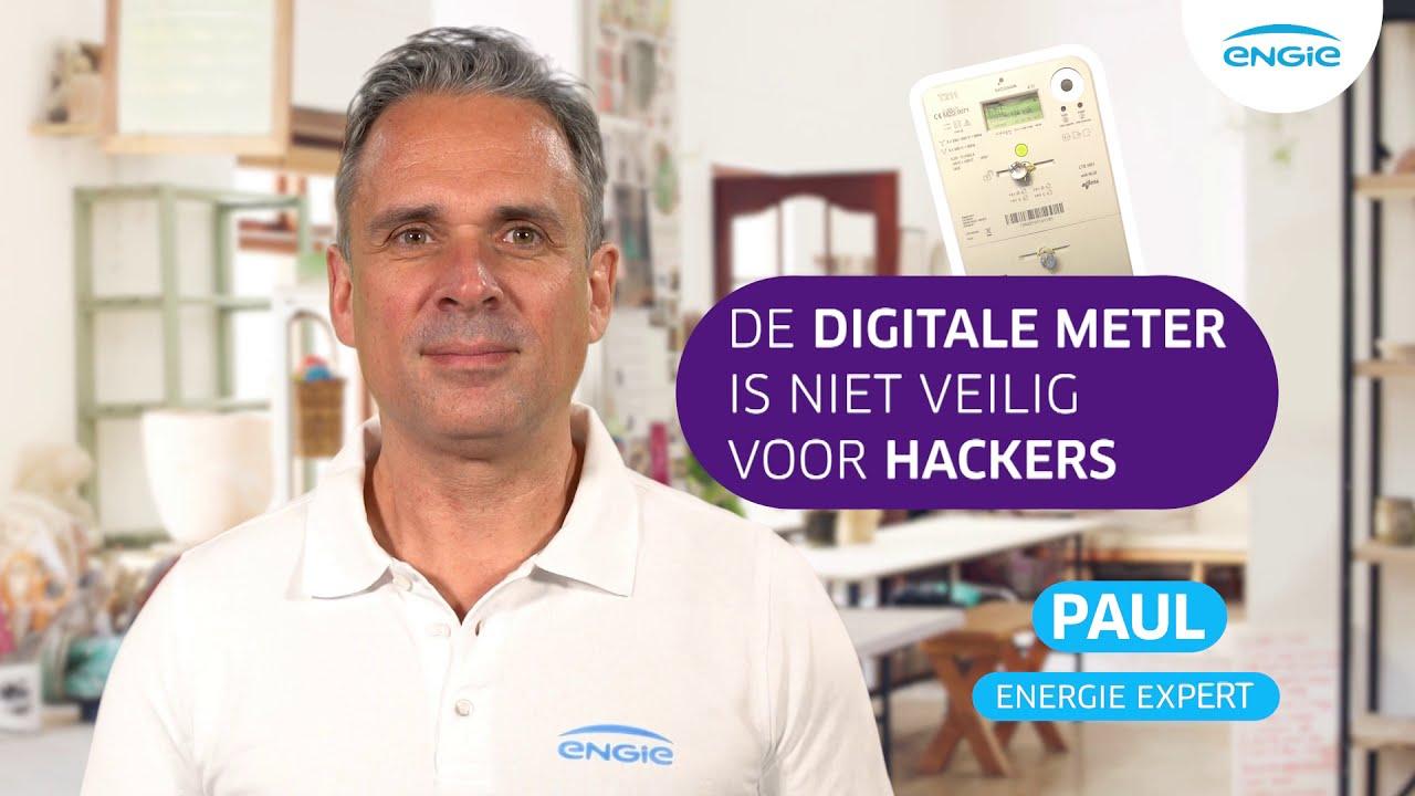 De digitale meter is niet veilig voor hackers.