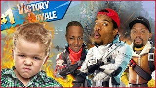 We Got CURSED OUT By A Little Kid In Fortnite