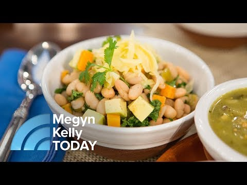 How To Make A Slow Cooker White Bean And Kale Chili | Megyn Kelly TODAY