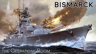 Sinking the Battleship Bismarck - Time-Lapse