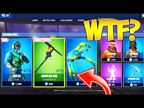 The New Exclusive Nvidia Skin Is In The Fortnite Item Shop