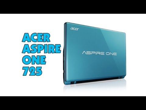 Acer Aspire One 725 Laptop Review