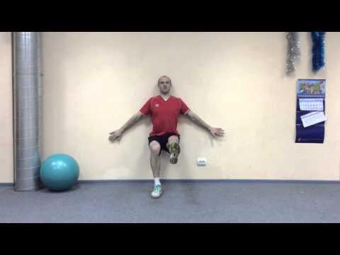 Упражнения для реабилитации коленного сустава