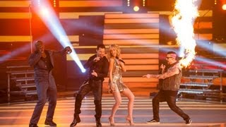 The Coaches Perform Living La Vida Loca: The Voice Australia Season 2