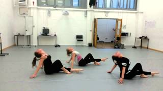 Pink panther contemporary dance(bsdc)