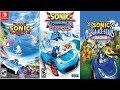 Team Sonic Racing Vs Sonic amp Sega All Stars Vs Sonic