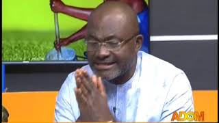 Badwam Mpensenpensenmu With Kennedy Agyapong And Allotey Jacobs on Adom TV (6-11-18)