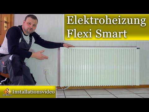 AeroFlow Elektroheizung FlexiSmart / Einbau- Bedienungsanleitung & Erläuterung zu Elektroheizungen