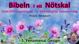 Thumbnail for video: Bibeln i ett Nötskal Del 5: Fenomenal design