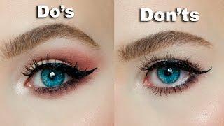 DO's & DON'Ts for Hooded, Downturned eyes │MARIA ALEXANDRA