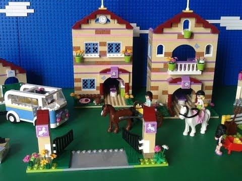 Vidéo LEGO Friends 3185 : Le camp d'équitation