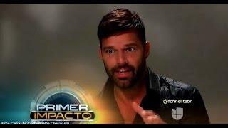 (ENTREVISTA) Ricky Martin habla de su compromiso con Jwan Yosef en Primer Impacto