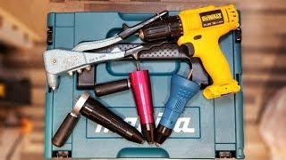 電批外置拉釘器 - 拉釘解構,使用,測試,優缺點編