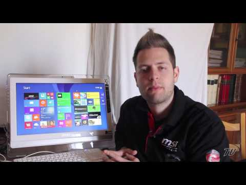 MSI All in One AE200: videoreview