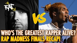 Who is the Greatest Rapper Alive? Rap Madness Finals Recap and Champion Revealed!
