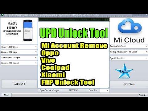 MI Account remove file MAKER Tool Redmi Xaomi ID bypass tool 2018