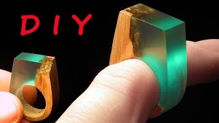 How to make Secret Wood Ring Blue