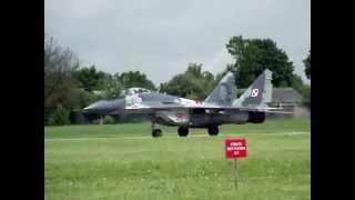 preview picture of video 'MiG 29 Mińsk Mazowiecki Dni Wojska Polskiego 2014'