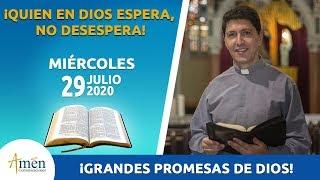 14 Grandes Promesas De Dios Para Tu Vida L Miércoles 29 De Julio 2020 L Padre Carlos Yepes