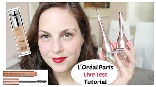 Live Test L`Oréal Paris Neuheiten Tutorial / Perfect Match, Paradise Extatic