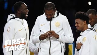 Championships haven't made KD as happy as he thought they would – Brian Windhorst | First Take